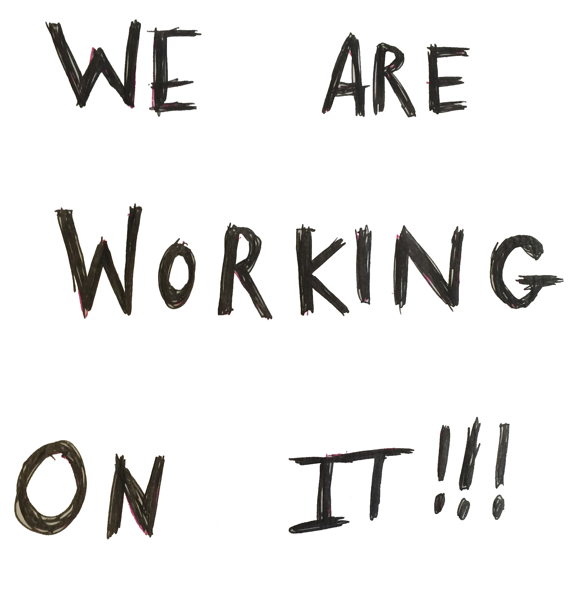 We are working on it!!!